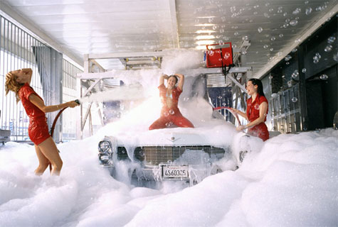 ps topic for another day why when i search google images for a picture of a car wash do i get predominantly pictures of scantily clad woman draped