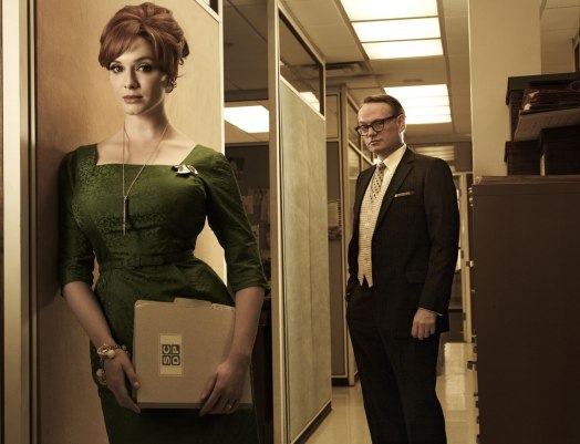 CHRISTINA HENDRICKS at Promo Shoot for Mad Men Season 5