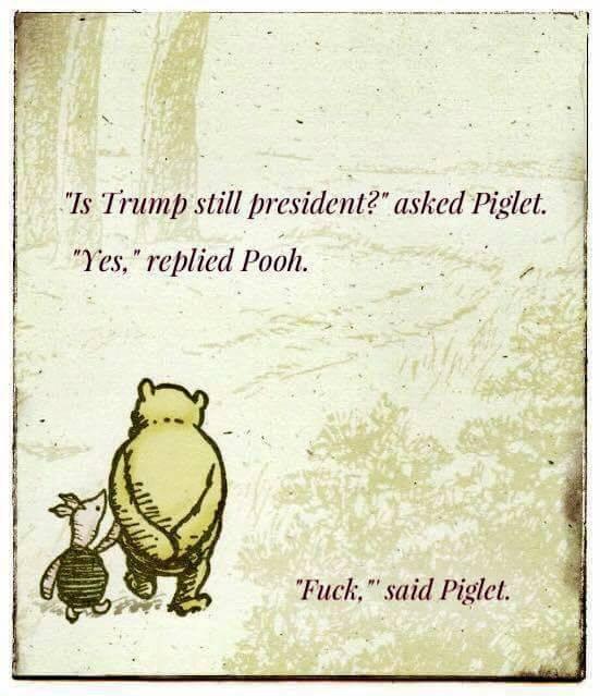 Pooh Piglet Trump